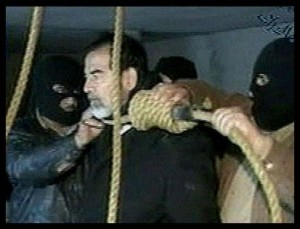 Saddam About to Hang