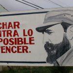 Napoli: Street Art per Fidel Castro