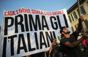 populismi prima gli italiani