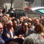 Il saluto di Napoli a Rino Zurzolo