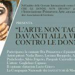 L'arte non tace davanti alla violenza contro le donne