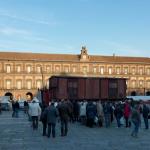 Napoli: Piazza Plebiscito 27 gennaio 2012.